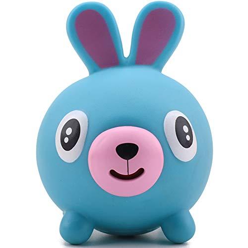 Screaming Toy Talking Animal Ball,Juguetes de Descompresión Animales Creativos Que Sacan la Lengua Kawaii Juguetes Animales Conejo Cerdo Perro Oso Tigre Silicona Animales Juguetes para Adultos Niños