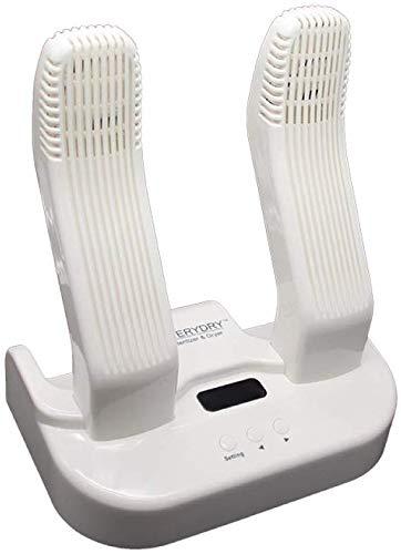 CHNHG Leichtgewicht Elektrischer Schuh Schuhtrockner und wärmer - Warmlufttrocknung Schuh for Skifahren und Motorrad-Schuhe, Handschuhe, Socken