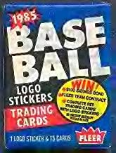 Lot of 3 1985 Fleer Baseball Wax Packs (45 Cards Total) Possible Roger Clemens Rookie Card