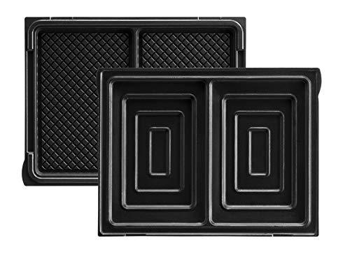 Lagrange 020422 Jeu de Plaque pour Gaufier Aluminium 150 x 100 mm