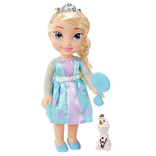La Reine des Neiges - 31070-TT - Poupon Deluxe Elsa avec Olaf - 38cm