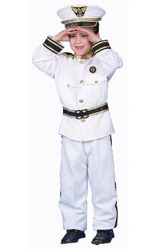 Dress Up America Costume de luxe Admiral Navy pour enfants