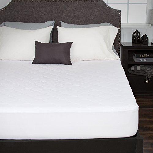 Bluestone Abajo Alternativa colchón de algodón con Falda Ajustada, Cama Individual