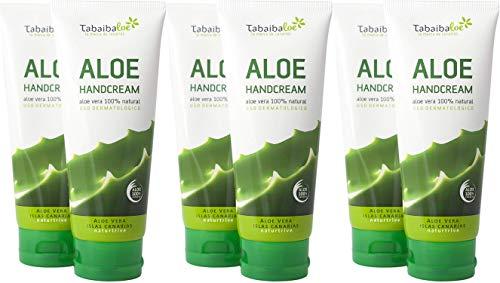 Tabaibaloe Aloe Vera Handcreme 100 ml Pack 6 Einheiten