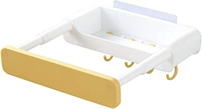 YTXTT Prateleira retrátil, sem perfuração, suporte para lavatório oculto para cozinha, banheiro, casa