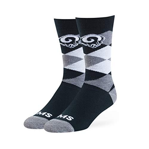 OTS NFL Herren Socken Blaine Dress, Herren, NFL Blaine Dress Sock, Teamfarbe, Large