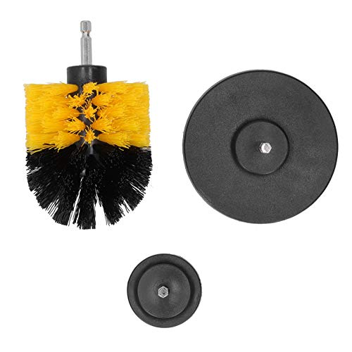 Power Scrubber Cleaning Kit, Drill Scrub Brush Kit, 3 Different Sizes Durable for Cleaning Cleaning Tool House Household Cleaning Brush