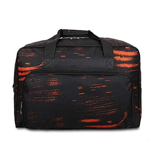 ILCD Bolsa de Fitness, de Gran Capacidad de la Bolsa de Viaje de los Hombres del Recorrido del Bolso de Deportes de Fitness Juego de Luces Bolsa máquina de Coser Bolsa,Naranja