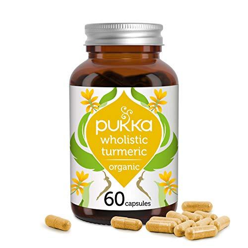 Pukka Wholistic Turmeric, Organic Herbal Supplement, (60 caps)
