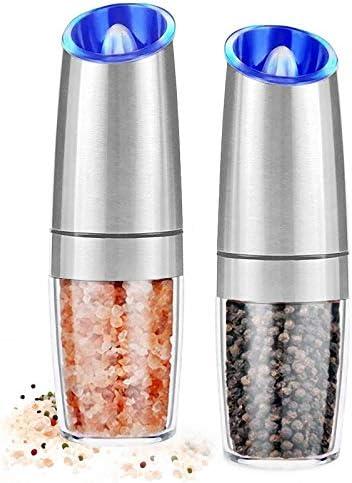 AVNICUD Electric Salt and Pepper Grinder Automatic Pepper Mill Gravity Salt Grinder Battery product image