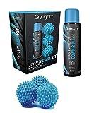 Grangers Down Care Kit | include piumino e repellente da 300 ml | X3 palline secche | perfetto per giubbotti | tutto in 1