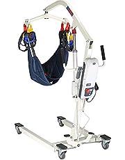 SKSNB Elevador de Pacientes eléctrico, atención domiciliaria en el Hospital Elevador de Pacientes eléctrico Plegable, hidráulico, sin ensamblaje con Base Baja, Capacidad de Peso de 410 l