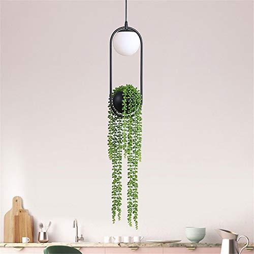 DIY Plant Hanglampen Skygarden Led Enkele Hoofd Lamp Bloem Pot Hanglamp Eetkamer Restaurant Verlichting armaturen Home Decor