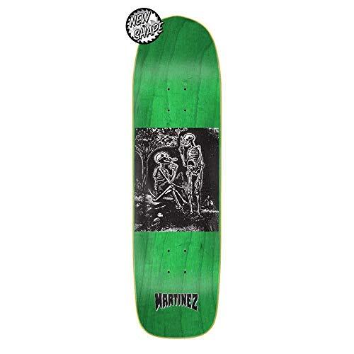 Creature Pro Martinez Calavera Skateboard-Brett / Deck, 21 cm, Grün