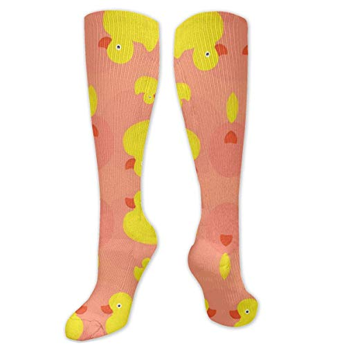 Jessicaie Shop Calcetines de compresión de pato de goma (