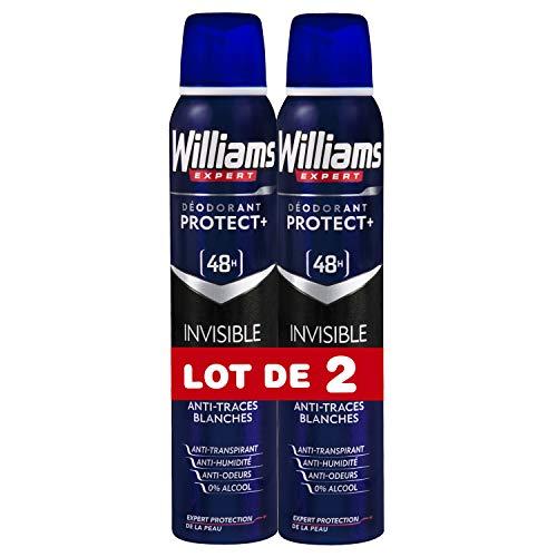 Williams Invisible 48H Desodorante Vaporizador - 2 Recipientes de 200 ml - Total: 400 ml