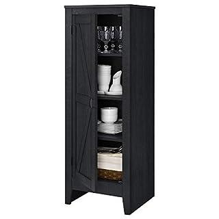 Ameriwood Home 7925886COM System Build Storage Cabinet, Black Oak (B07GYBYK9M) | Amazon price tracker / tracking, Amazon price history charts, Amazon price watches, Amazon price drop alerts