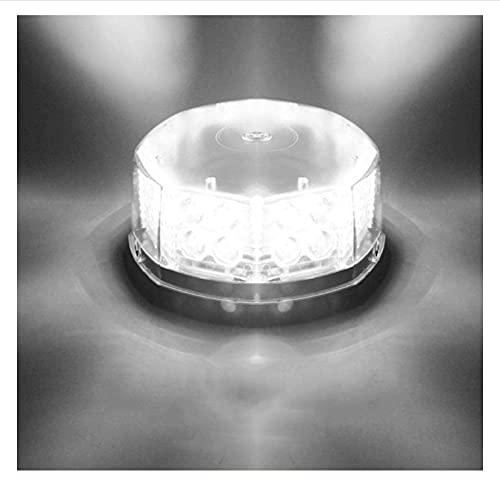 HJQL Luz Estroboscópica Súper Brillante,Luz Advertencia Techo,Luz Baliza Estroboscópica,Luz Advertencia Techo Automóvil Ingeniería,Luz Canal Led Succión Magnética para Automóvil