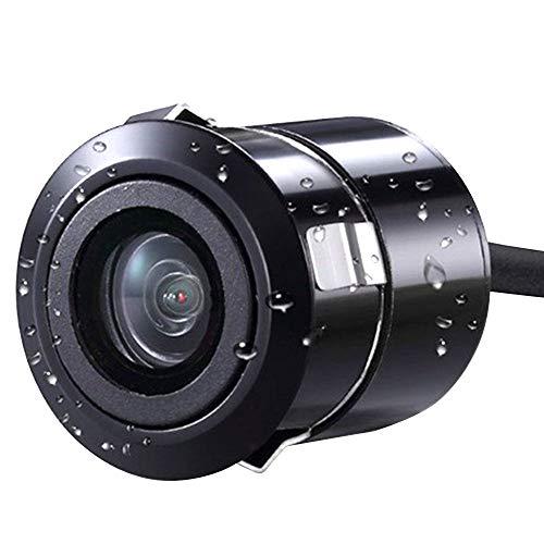 Bolange Caméra De Recul Universelle pour Vision Nocturne Montée sur Voiture, Caméra De Recul Arrière Ip67 pour Caméra De Stationnement 120 ° HD Universelle