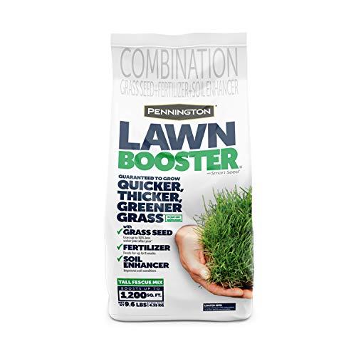 Pennington Lawn Booster Tall Fescue Mix Grass Seed & Fertilizer 9.6 lb