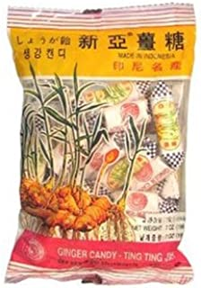 (Pack of 10) Ting Ting Jehe Chewy Ginger Candy Value Pack 4.04oz