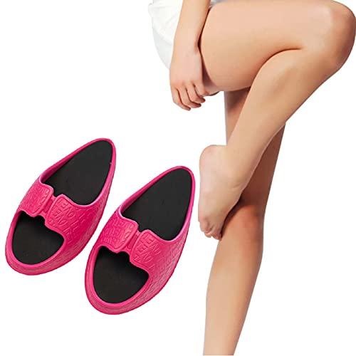 LPXPLP Pantuflas De Mujer para Adelgazar con Media Palma,Zapatillas Mujer Sandalia,Pérdida Zapatillas Adelgazamiento,Zapatos para Sacudir El Culturismo,De Balanceo Grasa Quemando Yoga 2,M