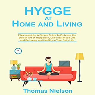 Hygge at Home and Living audiobook cover art