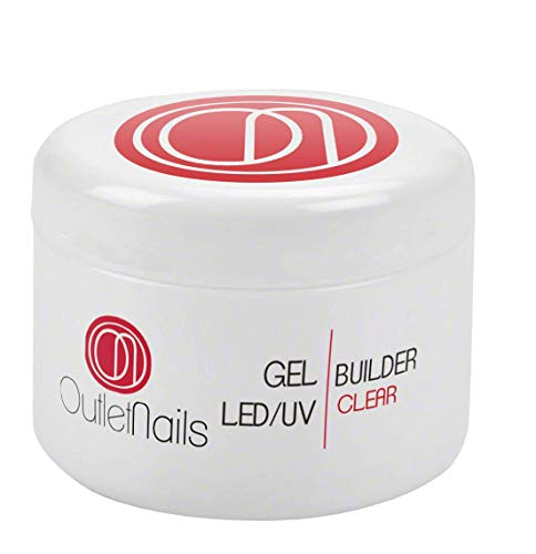 UV Gel Builder Clear 30ml para uñas de gel - UV/LED Constructor Transparente de Outlet Nails