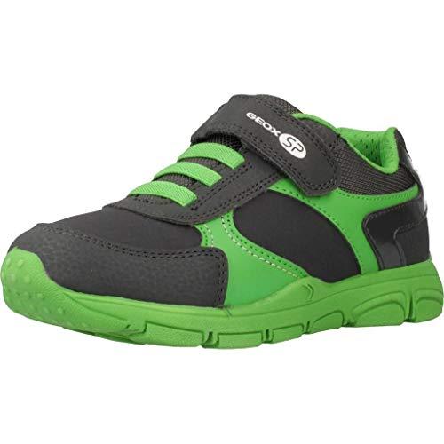 Geox Laufschuhe Jungen, Farbe Grau, Marke, Modell Laufschuhe Jungen J New Torque B Grau