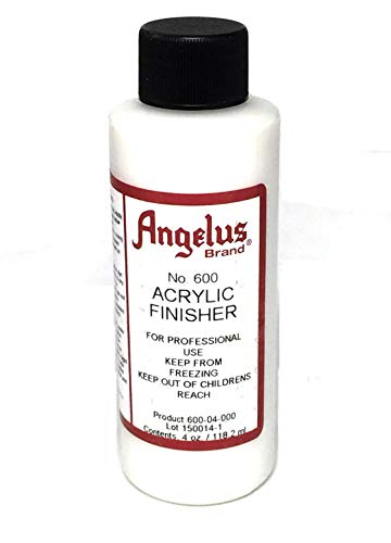 Angelus Brand Acrylic Leather Paint Finisher No. 600-4oz