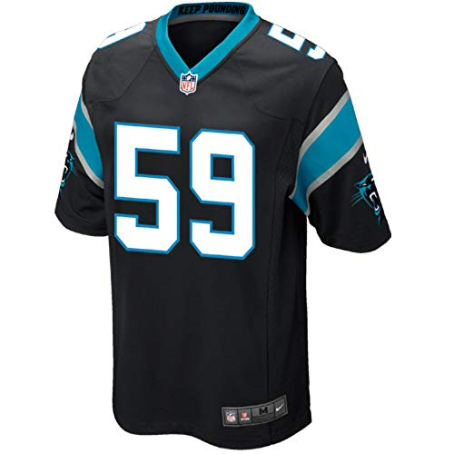 Nike Carolina Panthers Luke Kuechly Youth Game Jersey (Large)