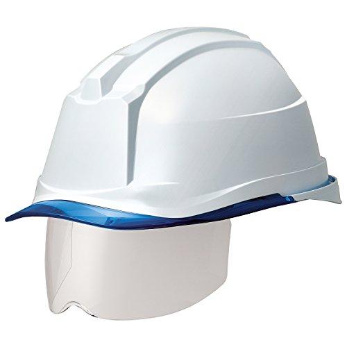 ミドリ安全 ヘルメット 一般作業用 電気作業用 スライダー面 SC19PCLS RA3 αライナー付 ホワイト ブルー