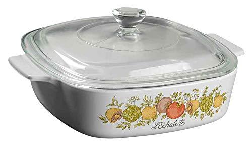 Corning Ware A-1-B 1-quart L'Echalote Spice of Life Corningware Bake Dish