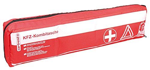 Cartrend 50212 KFZ-Kombitasche Österreich, Verbandtasche mit Warndreieck