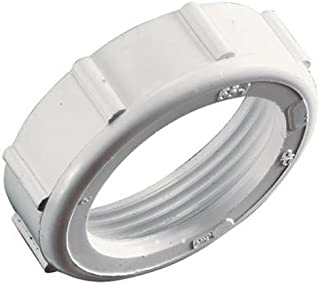 Keeney 56WK 1-1/4-Inch Slip Joint Nut and Washer, White