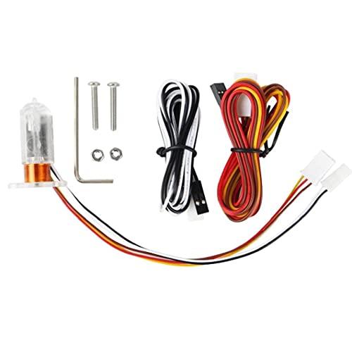 Capteur de nivellement Kit de capteur automatique Lit 3D Sonde 3D Appareils d'accessoires d'imprimante 3D avec des accessoires d'imprimante à vis 3D