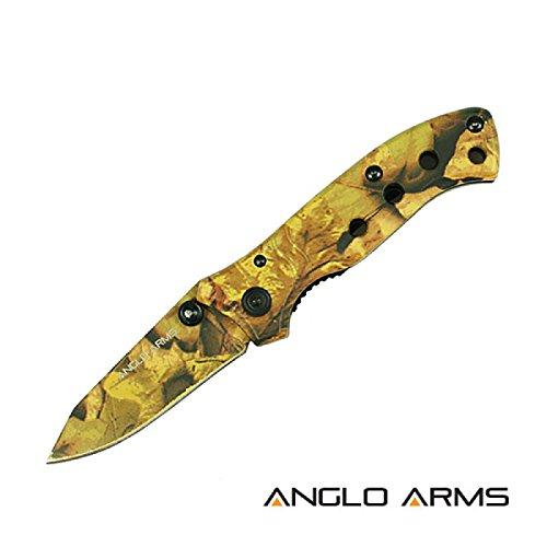 Couteau Full Camo Couteau de poche Outdoor Survival Couteau de camping