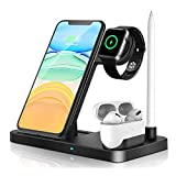 Best Qi Chargers - Wireless Charger Dock 4 in 1 Fast Charging Review