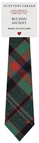 I Luv Ltd Garçon Tout Cravate en Laine Tissé et Fabriqué en Ecosse à Buchan Ancient Tartan