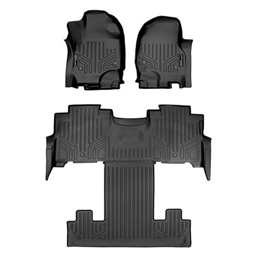 MAX LINER A0350/B0350 for 2018-2020 Expedition/Navigator with 2nd Row Bucket Seats (Incl. Max and L), Black