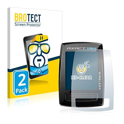BROTECT Schutzfolie kompatibel mit Giant Axact 13W (2 Stück) klare Bildschirmschutz-Folie