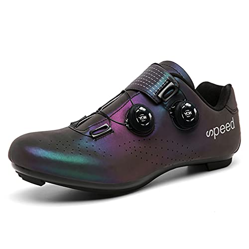 Women's Indoor Cycling Peloton Biking Shoes Outdoor Road Bike Cycling Shoes Compatible SPD-SL Delta Cleat