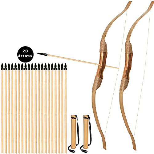 Bogenkönig -   Holz Pfeil und