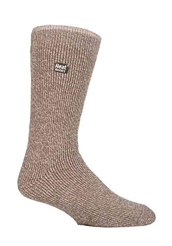 Heat Holders - Mens Thick Winter Outdoor Merino Wool Thermal Socks with...