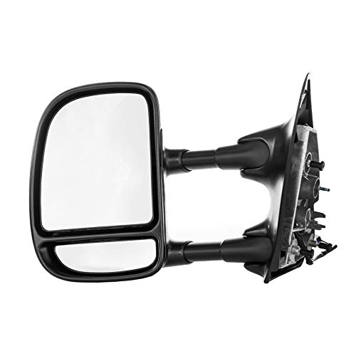 Dependable Direct Left Driver Side Textured Mirror for 99-02 Ford SD F-250, F-350 - Parts Link #: FO1320196