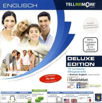 Tell me More (Version 10.0) : Englisch, Deluxe Edition, 2 DVD-ROMs