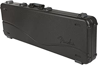 Fender Deluxe Molded Jazz and Precision Electric Bass Guitar Case - Black