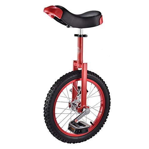 GAOYUY Monociclo, Monociclo De Rueda De 16/18/20 Pulgadas Deportes De Ciclismo Al Aire Libre For Niños Principiantes Y Adultos Ejercicio Diversión Bicicleta Ciclismo Fitness