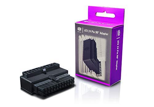 Cooler Master 24-poliger 90 ° ATX-Adapter für Stromkabel, elegante Verkabelung, universelle Kompatibilität, einfache Installation, 3 Jahre Garantie - Standard
