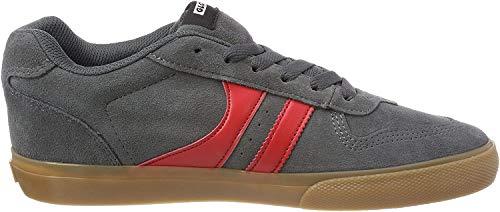 GLOBE Encore-2, Zapatillas de Deporte para Hombre, Multicolor (Charcoal/Gum/Red 000), 47 EU